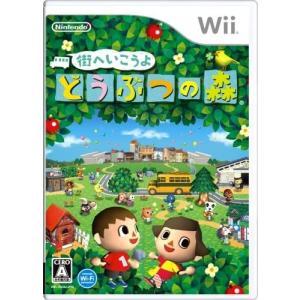 街へいこうよ どうぶつの森 Wii 中古 ソフト 外箱・説明書付き