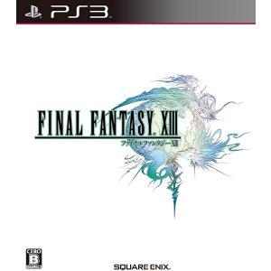 PS3 ファイナルファンタジー13 中古 ソフト 外箱説明書付き|centerwave
