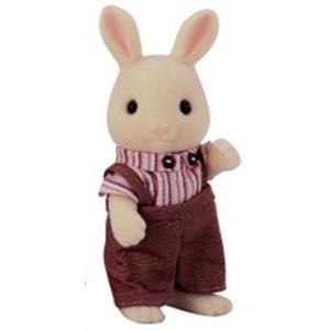 シルバニアファミリー みるくウサギ お父さん ウ-41|central-bookstore