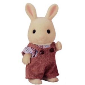シルバニアファミリー みるくウサギ 男の子 ウ-43|central-bookstore