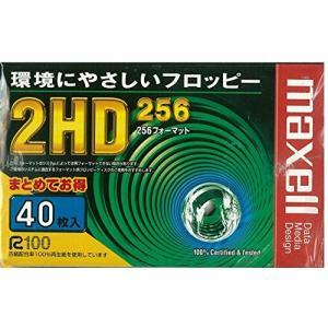 日立マクセル 3.5型 256フォーマット フロッピーディスク 40枚パック MFHD256.C40K|central-bookstore