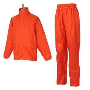ヤマシュウ レインスーツ こだわりRAIN #8000 オレンジ 3L|central-bookstore