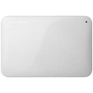 東芝 USB3.0接続 ポータブルハードディスク 1.0TB(ホワイト)CANVIO BASICS(HD-ACシリーズ) HD-AC10TW|central-bookstore