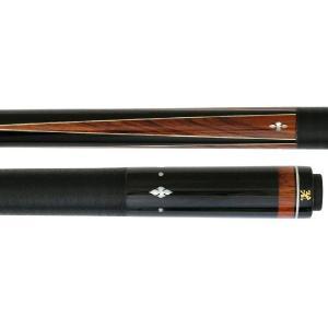 ビリヤードキュー ADAM VI-05(エボニー・ココボロ4剣本ハギ 白蝶貝インレイ) central-inc