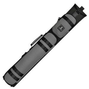3 Seconds CSB3B/5S-8 ダブルショルダー ハードケース (ドットグレー) 3バット5シャフト キューケース central-inc