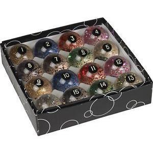 Action Glitter Balls グリッター ビリヤードボールセット 玉|central-inc