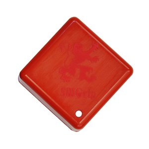 ADAM ロゴ入り シルグリップ シリコンチョークケース (レッド×レッド) 1個|central-inc