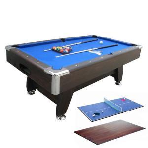 JBS 家庭用 7フィート ボールリターン 3in1 ポケットビリヤードテーブル Puma ピューマ テーブルトップ+卓球台付|central-inc