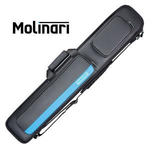 Molinari MLCH36 ブラック/シアン 3バット6シャフト ソフトキューケース 3B/6S central-inc