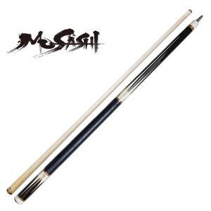 Musashi アダム ムサシ IM-12P シャイン エボニー ポケット用 カスタムキュー|central-inc