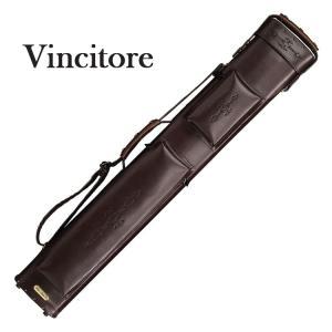 Vincitore C24P-4 2バット4シャフト ブラウンレザレット キューケース 2B/4S central-inc