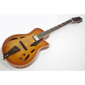 Yamaoka Guitars ヤマオカギター JG-1 Brown Burst エレキギター フルアコ【中古】【USED】 centralmusicshop