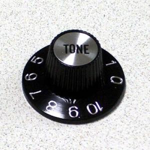 Montreux モントルー [商品番号 : 8864] Metric Sombrero Knob Tone Silver ノブ centralmusicshop