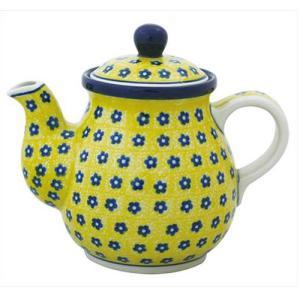 ティーポット0.6L No.242 Ceramika Artystyczna ( セラミカ / ツェラミカ ) ポーリッシュポタリー|ceramika-artystyczna