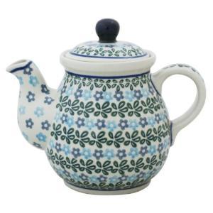 ティーポット0.6L No.802 Ceramika Artystyczna ( セラミカ / ツェラミカ ) ポーリッシュポタリー|ceramika-artystyczna
