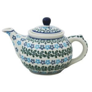 ティーポット0.4L No.802 Ceramika Artystyczna ( セラミカ / ツェラミカ ) ポーリッシュポタリー|ceramika-artystyczna
