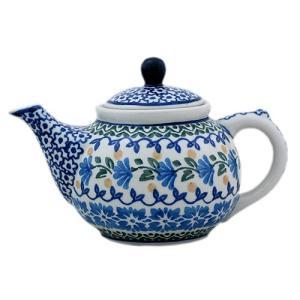 ティーポット0.4L No.883 Ceramika Artystyczna ( セラミカ / ツェラミカ ) ポーリッシュポタリー|ceramika-artystyczna