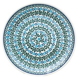 24cmプレート No.802 Ceramika Artystyczna ( セラミカ / ツェラミカ ) ポーリッシュポタリー|ceramika-artystyczna