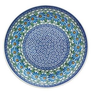 24cmプレート No.835 Ceramika Artystyczna ( セラミカ / ツェラミカ ) ポーリッシュポタリー|ceramika-artystyczna