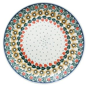24cmプレート No.858 Ceramika Artystyczna ( セラミカ / ツェラミカ ) ポーリッシュポタリー|ceramika-artystyczna