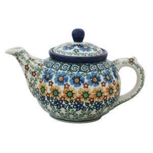 ティーポット0.4L No.U4-587 Ceramika Artystyczna ( セラミカ / ツェラミカ ) ポーリッシュポタリー|ceramika-artystyczna