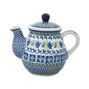 ティーポット0.6L No.883 Ceramika Artystyczna ( セラミカ / ツェラミカ ) ポーリッシュポタリー|ceramika-artystyczna