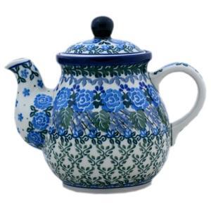 ティーポット0.6L No.U3-737 Ceramika Artystyczna ( セラミカ / ツェラミカ ) ポーリッシュポタリー|ceramika-artystyczna