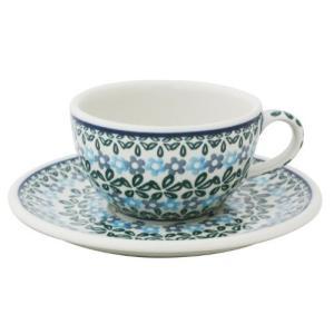カップ&ソーサー No.802 Ceramika Artystyczna ( セラミカ / ツェラミカ ) ポーリッシュポタリー|ceramika-artystyczna