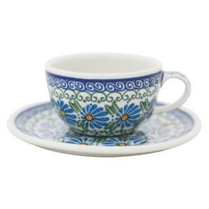 カップ&ソーサー No.835 Ceramika Artystyczna ( セラミカ / ツェラミカ ) ポーリッシュポタリー|ceramika-artystyczna
