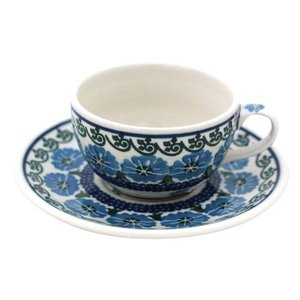 カップ&ソーサー No.845 Ceramika Artystyczna ( セラミカ / ツェラミカ ) ポーリッシュポタリー|ceramika-artystyczna
