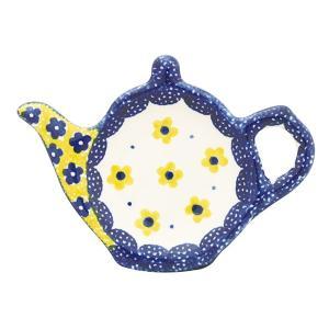 ティーバッグプレート No.240 Ceramika Artystyczna ( セラミカ / ツェラミカ ) ポーリッシュポタリー|ceramika-artystyczna