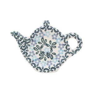 ティーバッグプレート No.802 Ceramika Artystyczna ( セラミカ / ツェラミカ ) ポーリッシュポタリー|ceramika-artystyczna