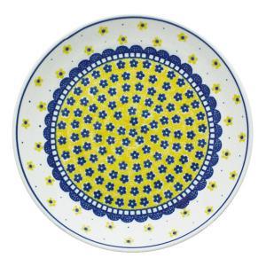 24cmプレート No.240 Ceramika Artystyczna ( セラミカ / ツェラミカ ) ポーリッシュポタリー|ceramika-artystyczna