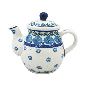 ティーポット0.6L No.845 Ceramika Artystyczna ( セラミカ / ツェラミカ ) ポーリッシュポタリー|ceramika-artystyczna