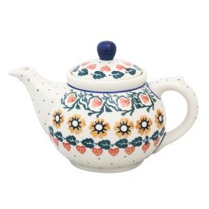 ティーポット0.4L No.858 Ceramika Artystyczna ( セラミカ / ツェラミカ ) ポーリッシュポタリー|ceramika-artystyczna