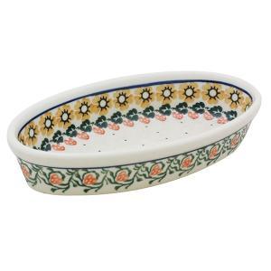 オーブンディッシュミニ No.858 Ceramika Artystyczna ( セラミカ / ツェラミカ ) ポーリッシュポタリー|ceramika-artystyczna