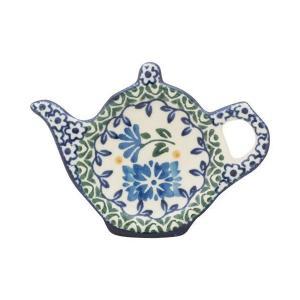 ティーバッグプレート No.883 Ceramika Artystyczna ( セラミカ / ツェラミカ ) ポーリッシュポタリー|ceramika-artystyczna