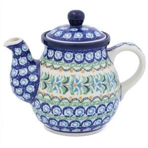 ポーランド食器 ティーポット0.6L No.U3-620 Ceramika Artystyczna ( セラミカ / ツェラミカ )|ceramika-artystyczna