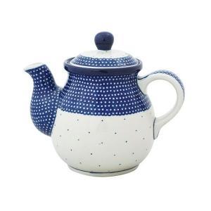 ティーポット0.6L No.U4-107 Ceramika Artystyczna ( セラミカ / ツェラミカ ) ポーリッシュポタリー|ceramika-artystyczna
