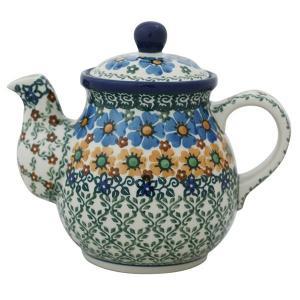 ティーポット0.6L No.U4-587 Ceramika Artystyczna ( セラミカ / ツェラミカ ) ポーリッシュポタリー|ceramika-artystyczna