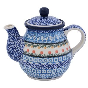 ポーランド食器 ティーポット0.6L No.U3-555 Ceramika Artystyczna ( セラミカ / ツェラミカ )|ceramika-artystyczna