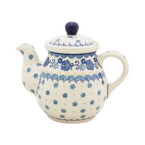 ティーポット0.6L No.2066 Ceramika Artystyczna ( セラミカ / ツェラミカ ) ポーリッシュポタリー|ceramika-artystyczna