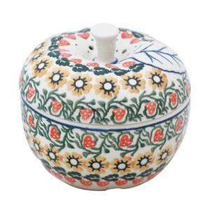 ポーリッシュポタリー リンゴポット No.858 Ceramika Artystyczna ( セラミカ / ツェラミカ ) ceramika-artystyczna