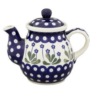 ティーポット0.6L No.377Y Ceramika Artystyczna ( セラミカ / ツェラミカ ) ポーリッシュポタリー|ceramika-artystyczna