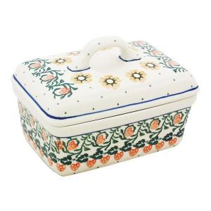 バターディッシュ No.858 Ceramika Artystyczna ( セラミカ / ツェラミカ ) ポーリッシュポタリー|ceramika-artystyczna
