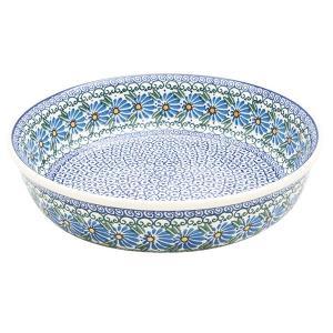 ラウンドオーブンディッシュ No.835 Ceramika Artystyczna ( セラミカ / ツェラミカ ) ポーリッシュポタリー|ceramika-artystyczna