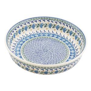 ラウンドオーブンディッシュ No.883 Ceramika Artystyczna ( セラミカ / ツェラミカ ) ポーリッシュポタリー|ceramika-artystyczna