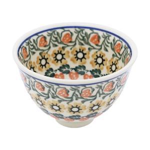 お茶碗 No.858 Ceramika Artystyczna ( セラミカ / ツェラミカ ) ポーリッシュポタリー 飯碗 小鉢 ceramika-artystyczna