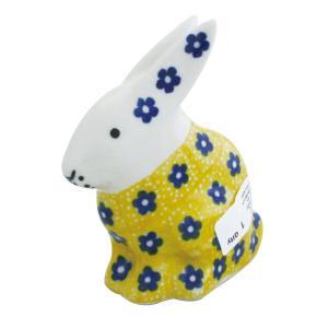 うさぎ No.242 Ceramika Artystyczna ( セラミカ / ツェラミカ ) ポーリッシュポタリー 置物|ceramika-artystyczna