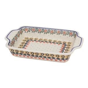 グラタン皿 大 No.858 Ceramika Artystyczna ( セラミカ / ツェラミカ ) ポーランド食器|ceramika-artystyczna